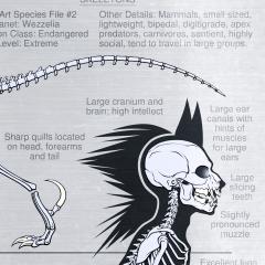 SONAS - Wezzelpine Original Species Skeletons1
