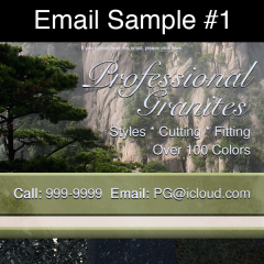 GRAPHIC DESIGN - EmailSample1