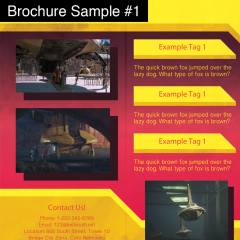 GRAPHIC DESIGN - BrochureSample1