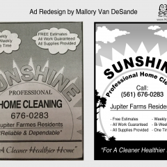 GRAPHIC DESIGN - Ad Example Sunshine