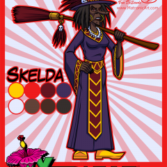 Yardville - Skelda Character Sheet