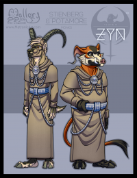 ZYN - Character Final: Stienberg & Potamore (Monks)